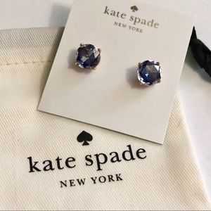 Kate Spade crystal studs